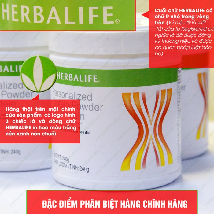 Bột bổ sung Protein Herbalife Personalizedb H002 2