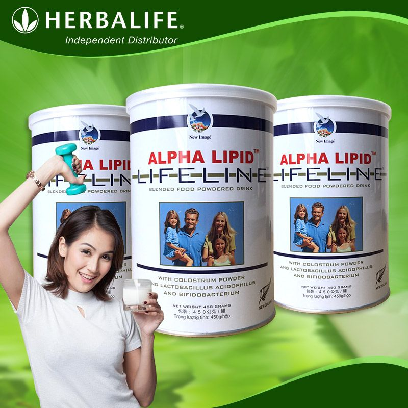Sữa Non Alpha Lipid Life Line New Zealand 450g