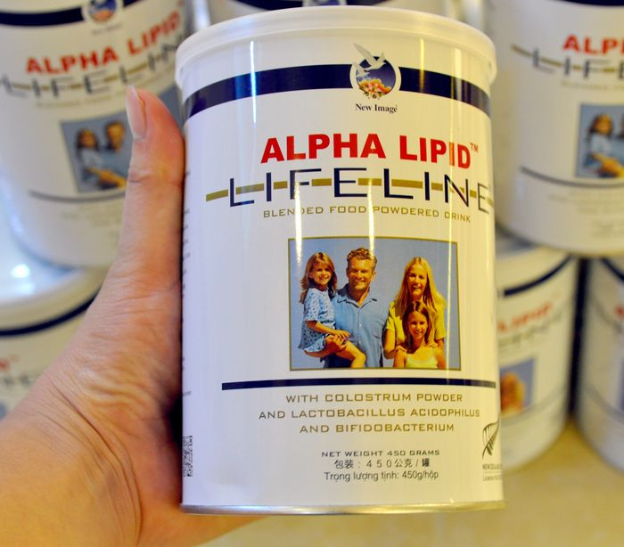 Sữa Non Alpha Lipid Life Line New Zealand 450g 17